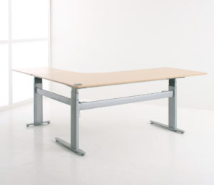 Conset 501-29 hoek zit-sta bureau