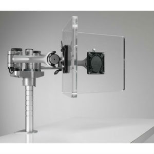 Wishbone dual monitorarm
